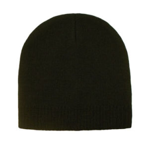 2018 Slouch Black Beanie Hat pictures & photos
