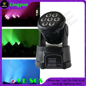 7PCS 12W RGBW Beam Moving Head LED Disco Light pictures & photos