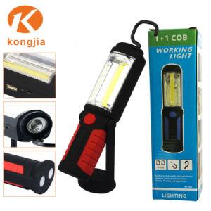 China Portable Cob Flashlight Magnetic