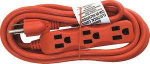 3 Outlets Utility Extension Cords, Power Cords (06-GGPT7116) pictures & photos
