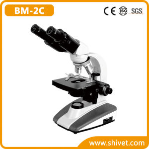 Veterinary Binocular Biological Microscope (BM-2C) pictures & photos