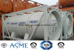 23000L 20FT Carbon Steel 4 Bar Pressure Bulk Cement Tank Container