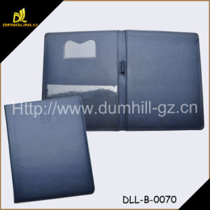 A5 PU Leather Holder with Paper Pad