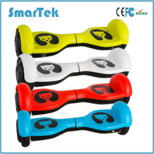 Smartek 4.5 Inch Smart Self Balancing Electric Scooter Patinete Electrico for Kids with Ce/RoHS/FCC S-003 pictures & photos
