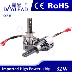 All in One LED Car Light with Fan Canbus Bulti-in