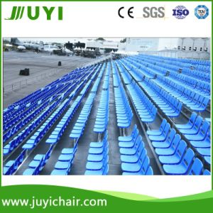 Jy-715 Temporary Outdoor Gym Aluminum Bleachers with Plastic Seats pictures & photos