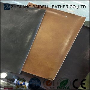 Synthetic Microfiber Leather Backing Color Same as Surface for Bags/Wallet pictures & photos