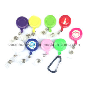 Plastic Custom Badge Reel for Lanyard pictures & photos