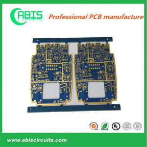 Multilayer Enig Circuit Board PCB with 10 Years Experience (8 Layers Enig Rogers4003+Fr4 Hybrid Edge Gold Plating) pictures & photos