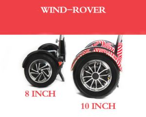 Wind Rover Fashion Bluetooth 10 Inch Hoverboard with LED pictures & photos