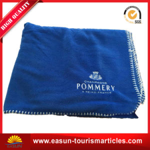 Factory 100 Polyester Polar Fleece Blanket pictures & photos