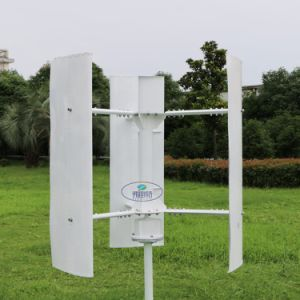 1kw Vertical Wind Turbine Generator 48V AC out Put, Low Noise and Started Wind Speed pictures & photos