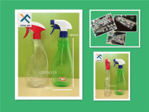 Good Quality 500ml Pet Liquid Detergent Bottle with Trigger Spray