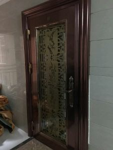 Color Stainless Steel Door (S-3023) pictures & photos