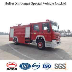 10ton Sinotruk HOWO Water Tank Type Fire Fighting Truck