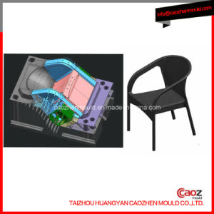Arm/Plastic Injection Chair Mould with Rattan Design