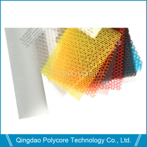 Transparent Polycarbonate Honeycomb Sheet (PC 3.5) for Decoration pictures & photos