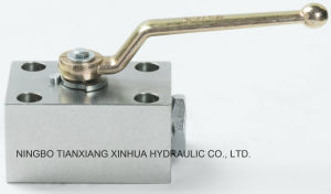 Carbon Steel Hydraulic High Pressure Board Type Valve pictures & photos