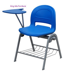 High Quality School Student Training Chair with Writing Pad