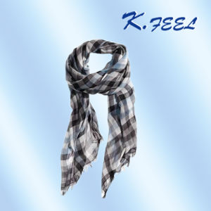 100% Viscose Lady′s Long Scarf