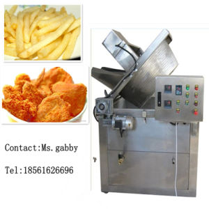 Best Sale Electric Nuts Peanut Fryer Machine pictures & photos
