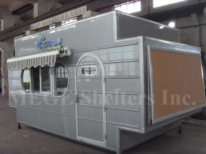 FRP Mobile Container Medicine Shop/Store