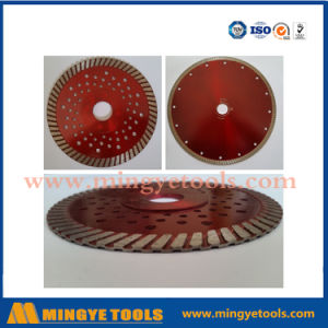 with Flange Turbo Dimond Tools Saw Blade for Granite and Marble Cutting pictures & photos
