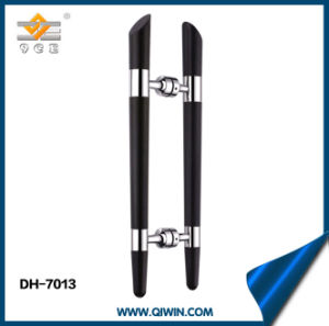 Black Wood Color Glass Door Handle pictures & photos