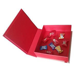 Christmas Gift Box.Christmas Gift Box With Satin Logo