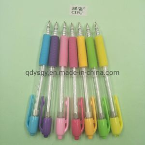 1.0mm Hot-Selling Ball Pen with 7 Colors