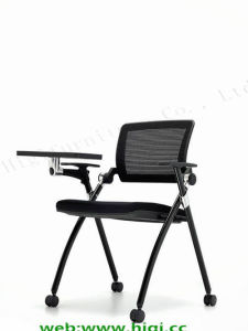 Practical Ergonomic Mesh Back Writing Plastic Table Office Learning Meeting Chair Furniture