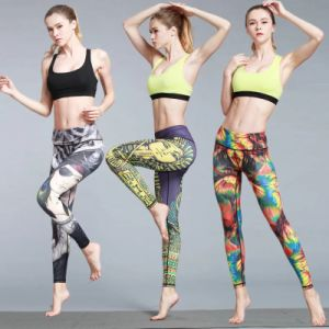 7763735559 Custom Sport Leggins Fitness High Quality Sublimation Yoga Pants Womens
