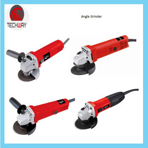 Red Color 100mm Angle Grinder pictures & photos