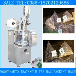 Automatic Small Pyramid Loose Herb Tea Bag Filling Sealing Packing Machine pictures & photos