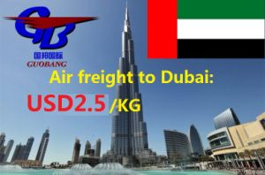 Air Freight From China to Dubai with The Cheapest Offer (USD2.5/KG)