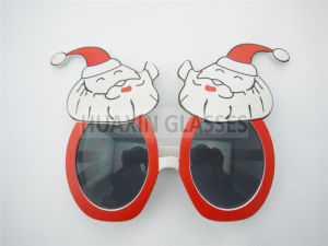 Santa Party Glasses for Christmas