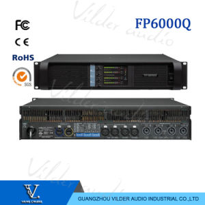 Fp6000q Amplifier 4*800W 4 Channel Outdoor Professional Monitor AMP