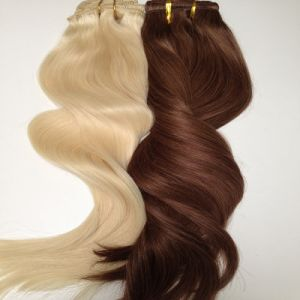 European Virgin Remy Human Hair Machine Weaving