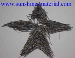 Melt Extracted Stainless Stel Fibers Made in China for Construction Building