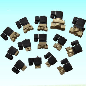 High Quality Screw Air Compressor Part Solenoid Valve 24V 220V pictures & photos