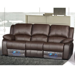Armrest Recliner Sofa with Tea Table Function 6012# pictures & photos