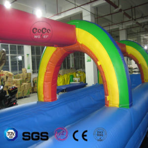 Inflatable Rainbow Slide for Water Game LG8092