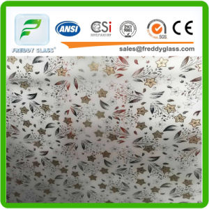 Art Glass/Decoration Glass/Acid Etched Glass with Ce & ISO9001 pictures & photos