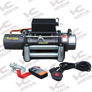 Car Trailer Winch 8500lb Fast Line Speed (SC8.5X)