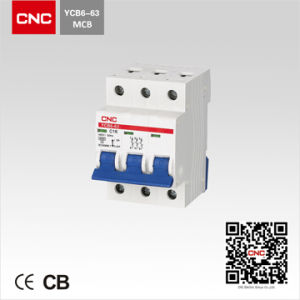 Ycb6 Miniature Circuit Breaker MCB Control Switch pictures & photos