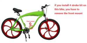2.4L Motorized Bicycle Frame/ Gas Tank Frame Petrol Bicycle Frame pictures & photos