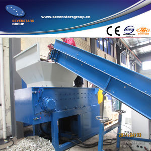 Waste Plastic Single Shaft Shredder pictures & photos