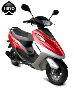 New Design 50cc Best Sell Two Wheel Light Scooter pictures & photos