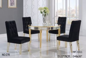 Small Size Round Shape Dining Table pictures & photos