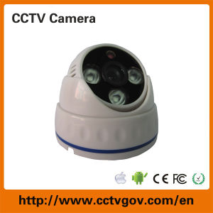 CMOS 800tvl 3 Array LED IR Dome Analog Camera for Indoor Surveillance System pictures & photos